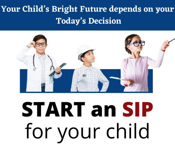 Invest in Mutual Funds for Child Education planning
