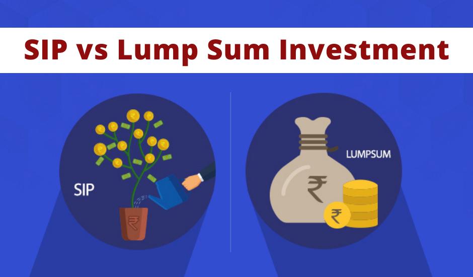 Investing in mutual funds - SIP vs Lump Sum